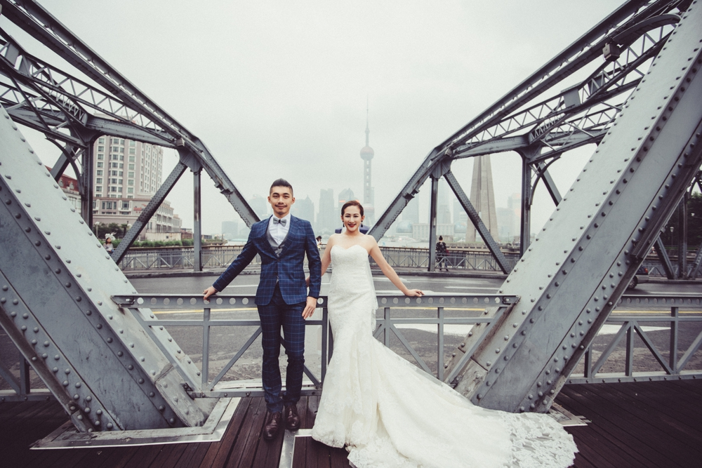 PUREFOTO_海外婚紗攝影Oversea_Prewedding_外白渡橋婚紗攝影,上海海外婚紗