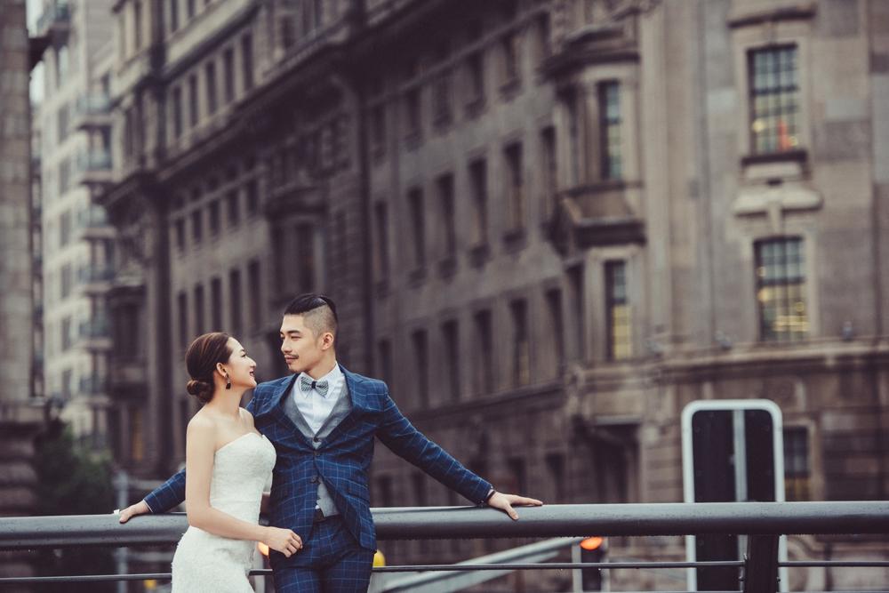 PUREFOTO_海外婚紗攝影Oversea_Prewedding_外灘文藝復興建築婚紗拍攝