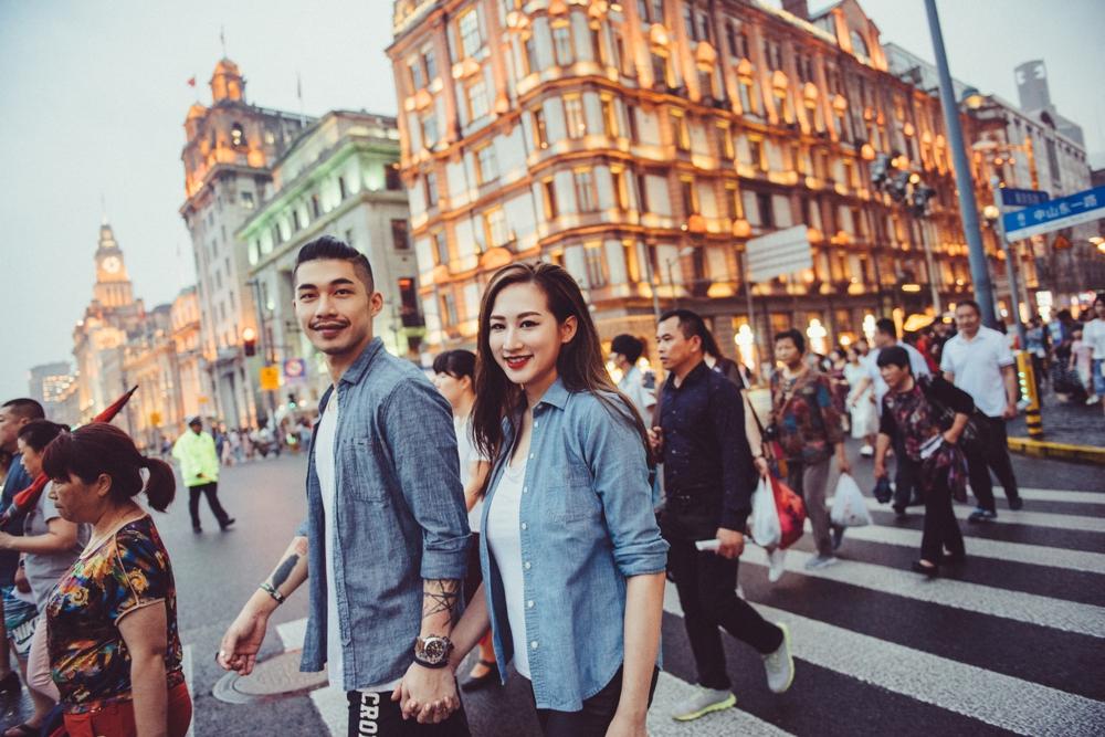 PUREFOTO_海外婚紗攝影Oversea_Prewedding_上海夜景婚紗