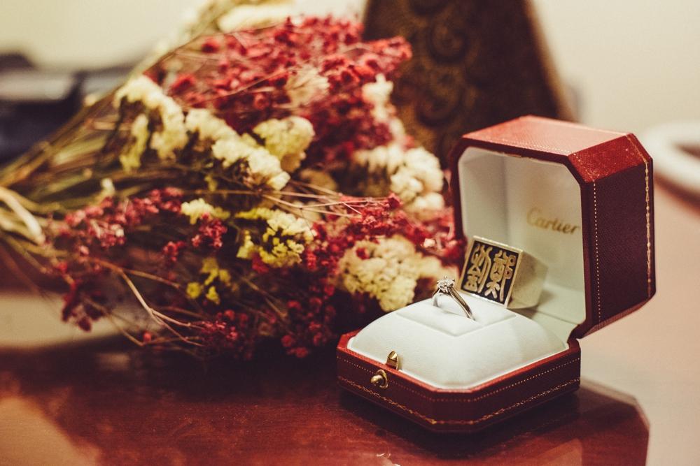 PUREFOTO_海外婚紗攝影Oversea_Prewedding_海外婚紗道具,乾燥花戒指