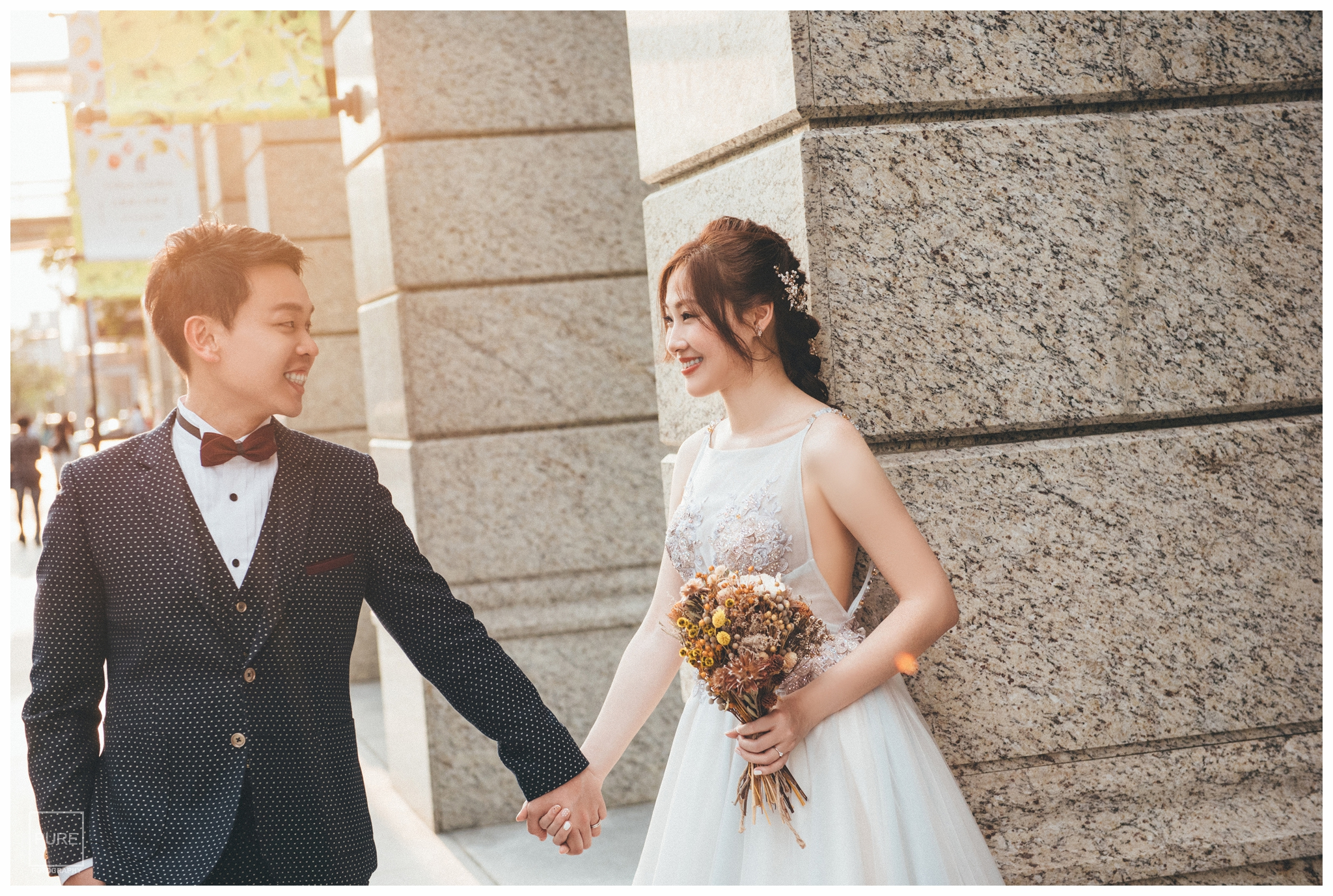 PUREFOTO_台灣自助婚紗攝影Prewedding_Bella vita逆光婚紗