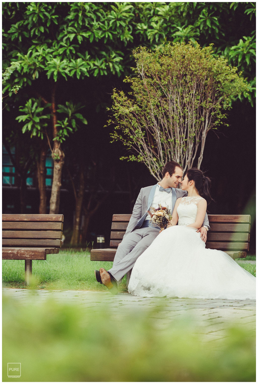 花博,公園,長椅,婚紗