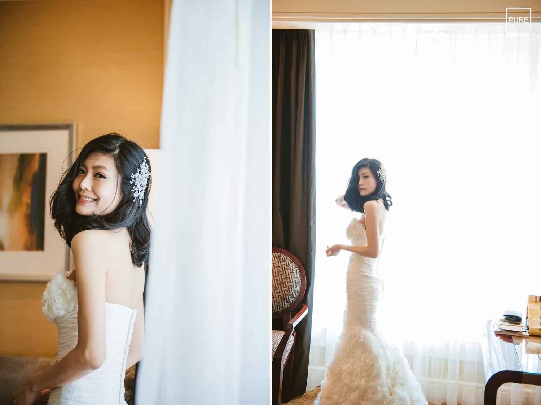 在美麗的四季酒店理所當然的在房間裡拍些美美的照片