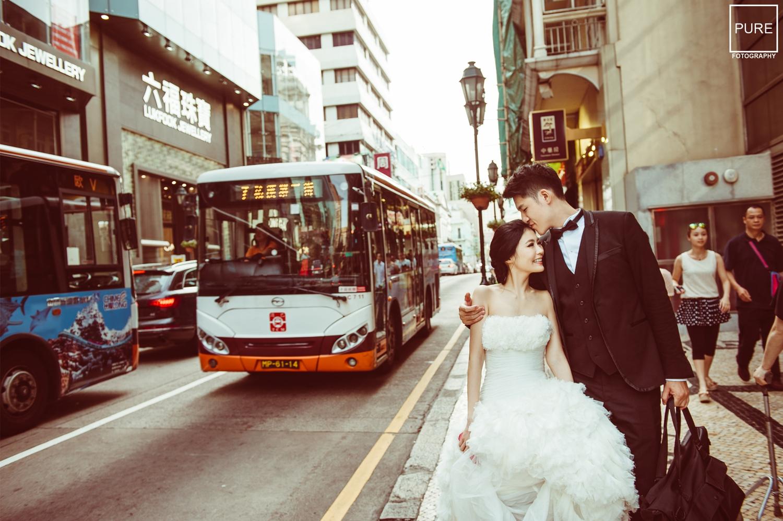 澳門郵政總署婚紗拍攝_海外婚紗_澳門旅行_澳門婚紗_Macao