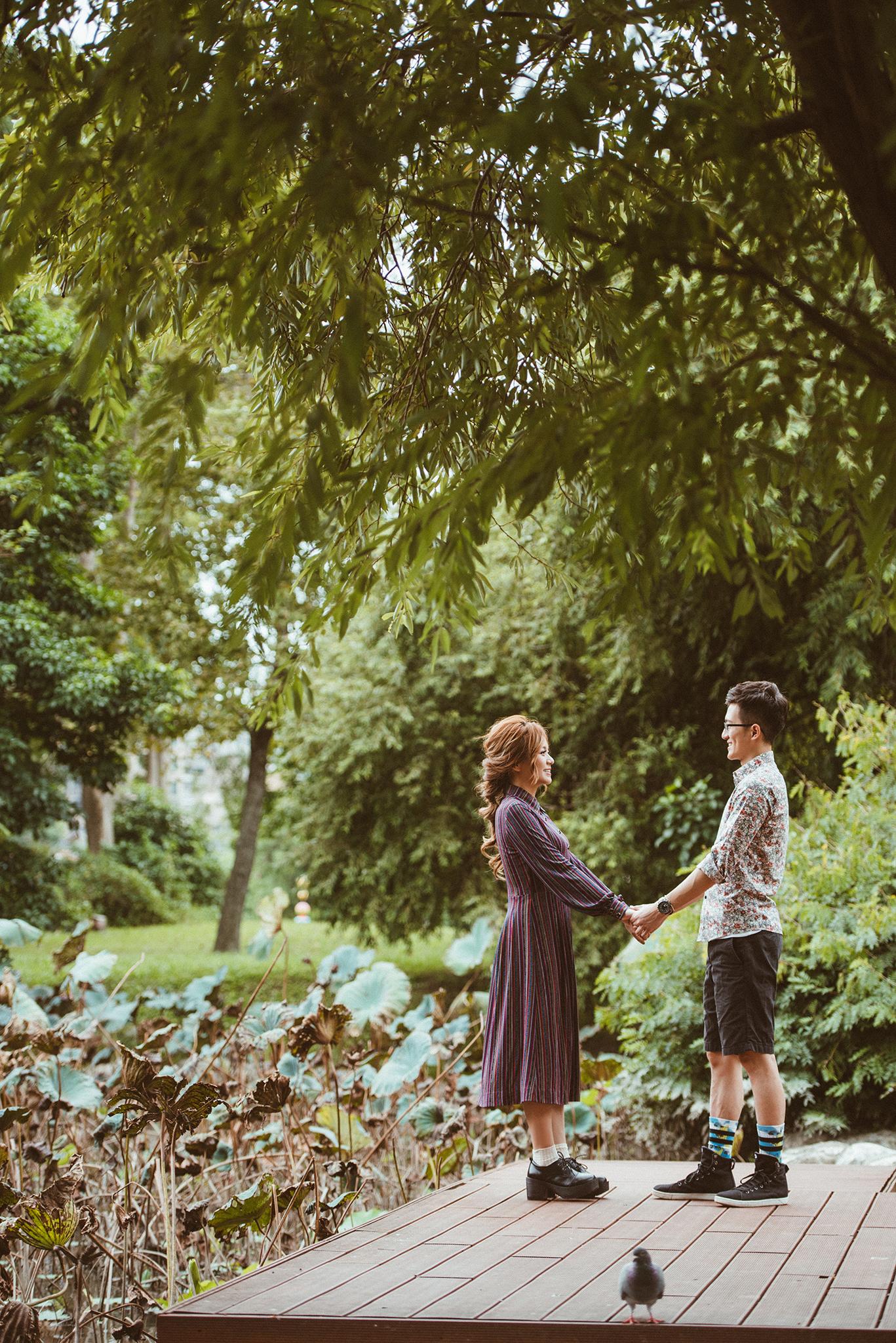 便服婚紗攝影,華山寫真