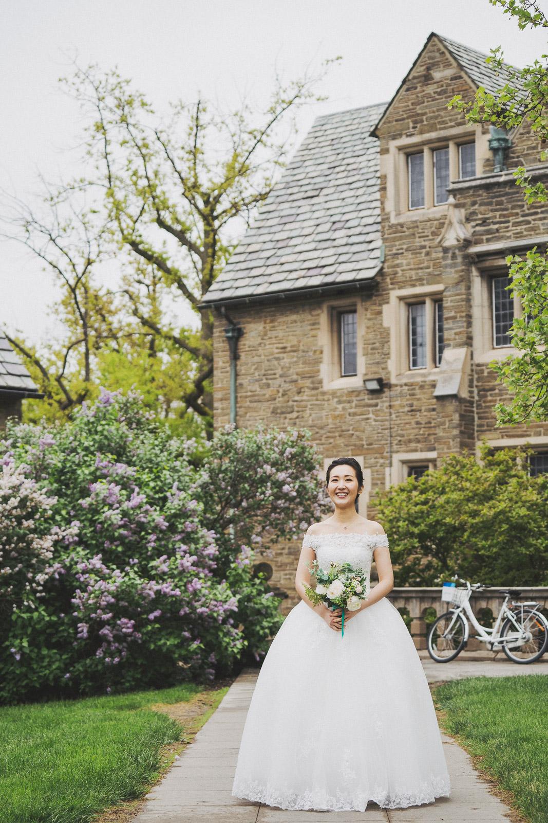 Cornell University婚紗拍攝