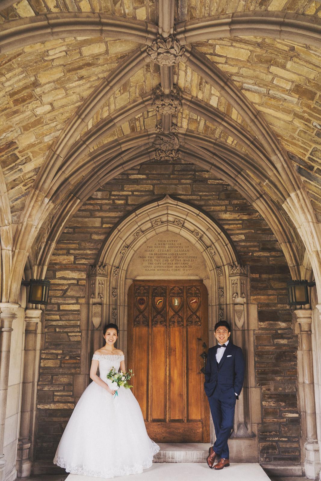 美國校園婚紗,美式風格婚紗