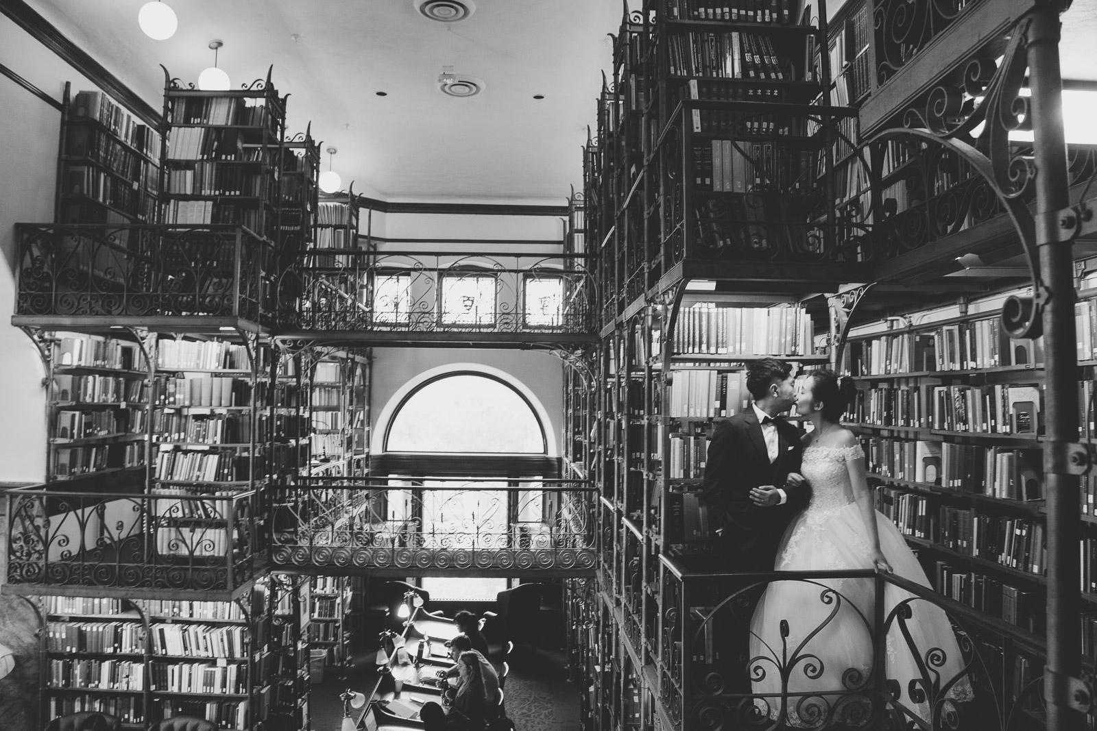 圖書館婚紗,圖書館婚紗攝影