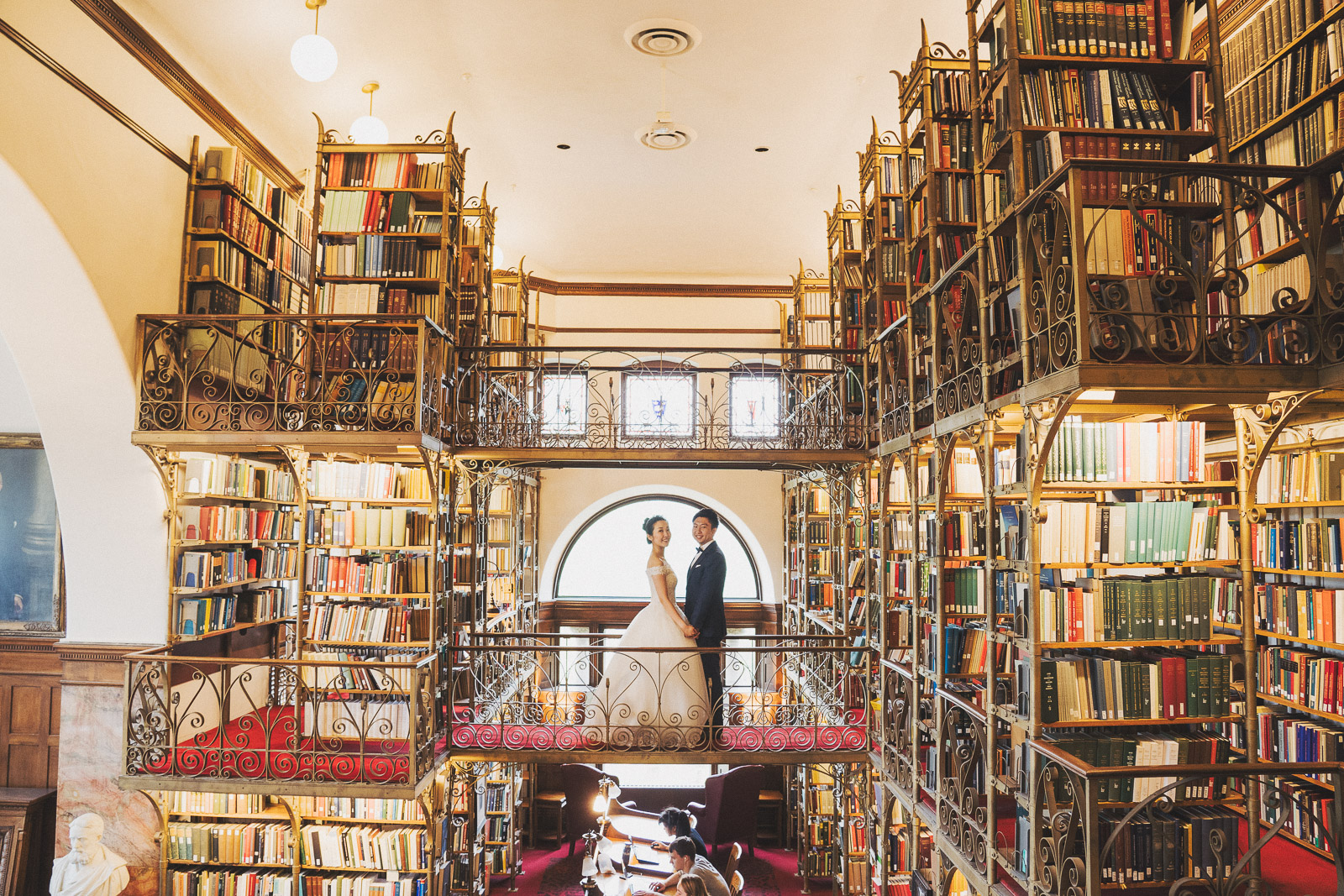 康乃爾圖書館婚紗拍攝_海外婚紗