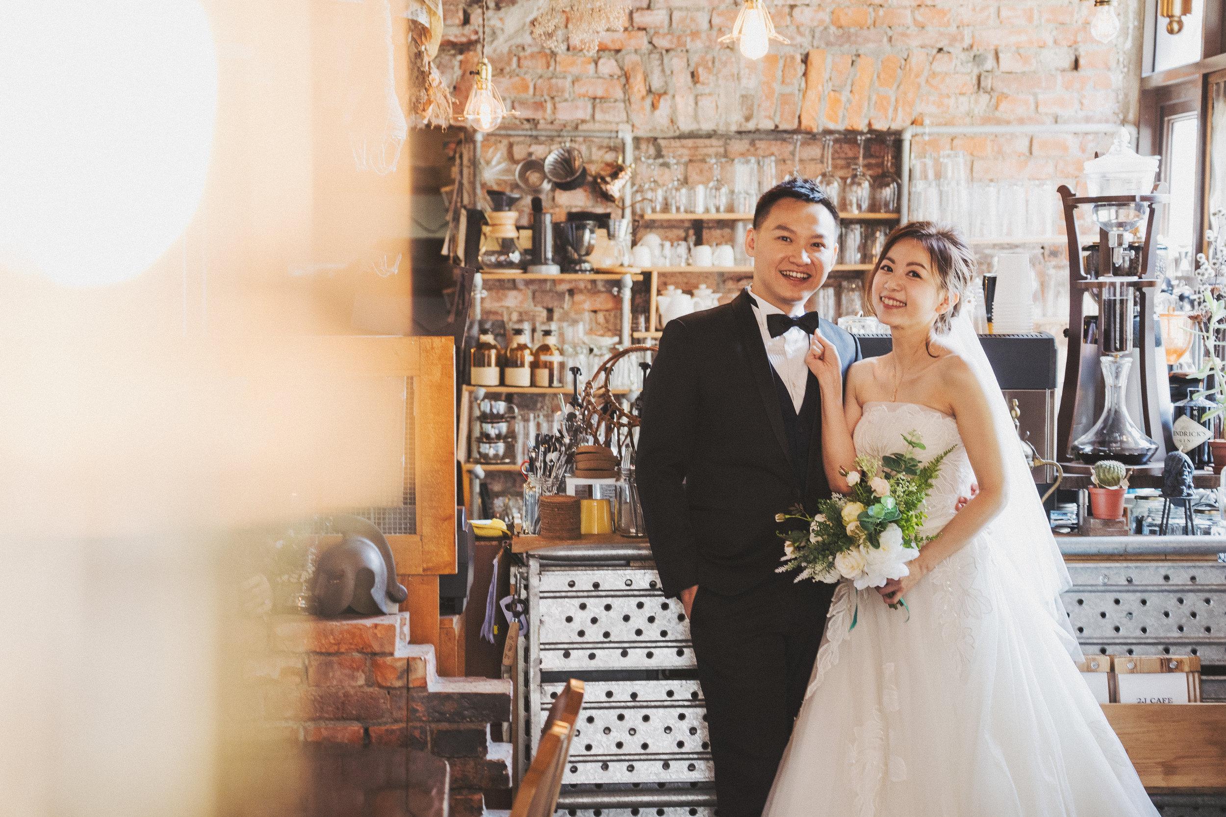 台北婚紗,咖啡廳婚紗,工業風,PURE FOTO