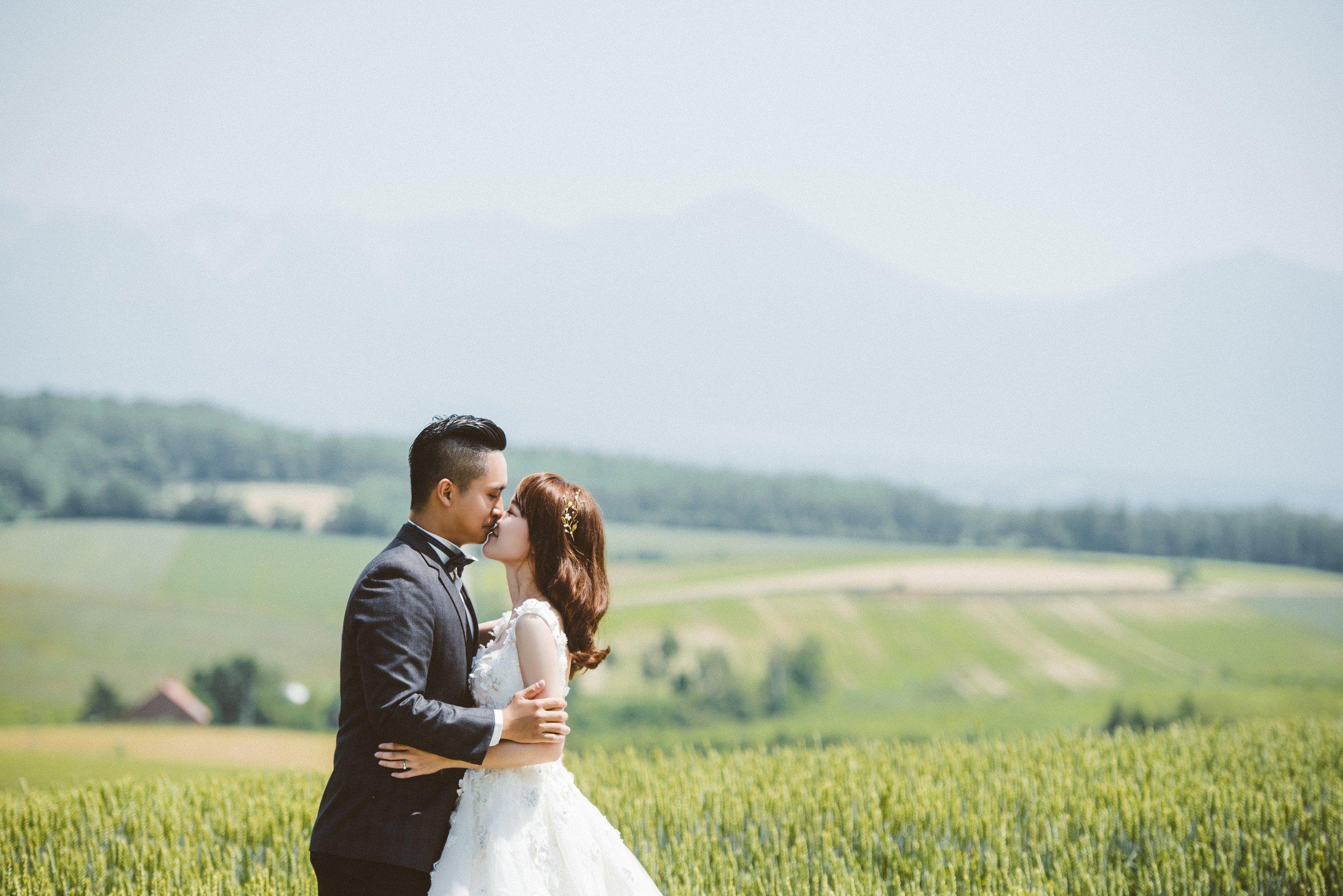 日本海外婚紗,北海道婚紗推薦