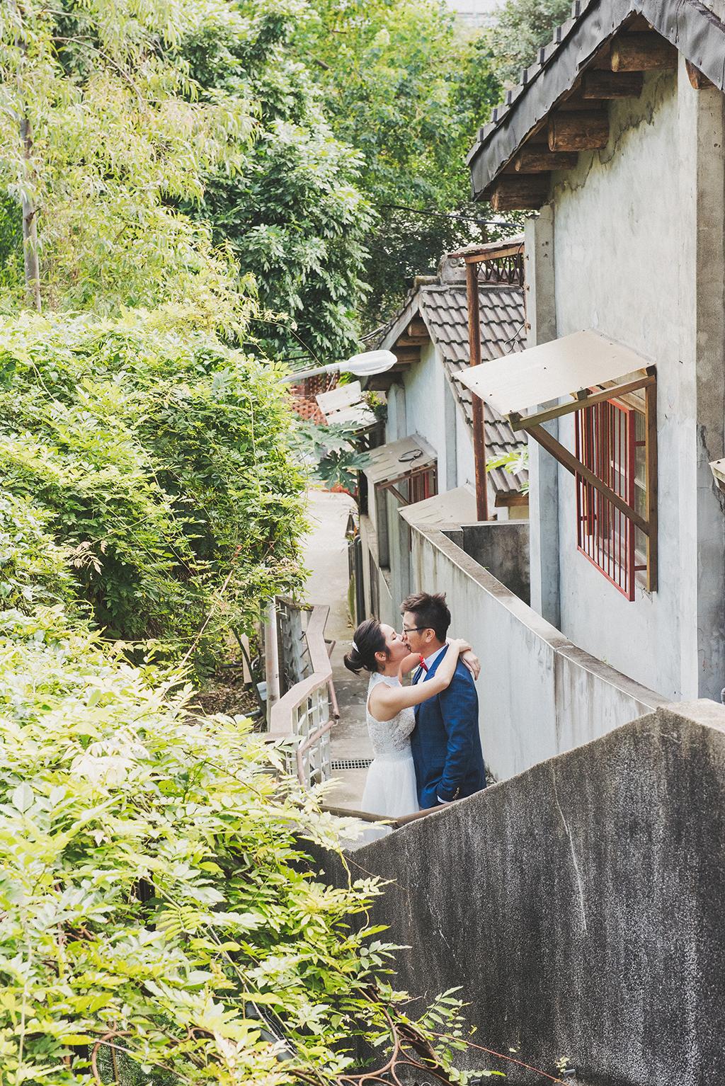 台灣特有的崎嶇狹小巷弄好像上演了很多故事