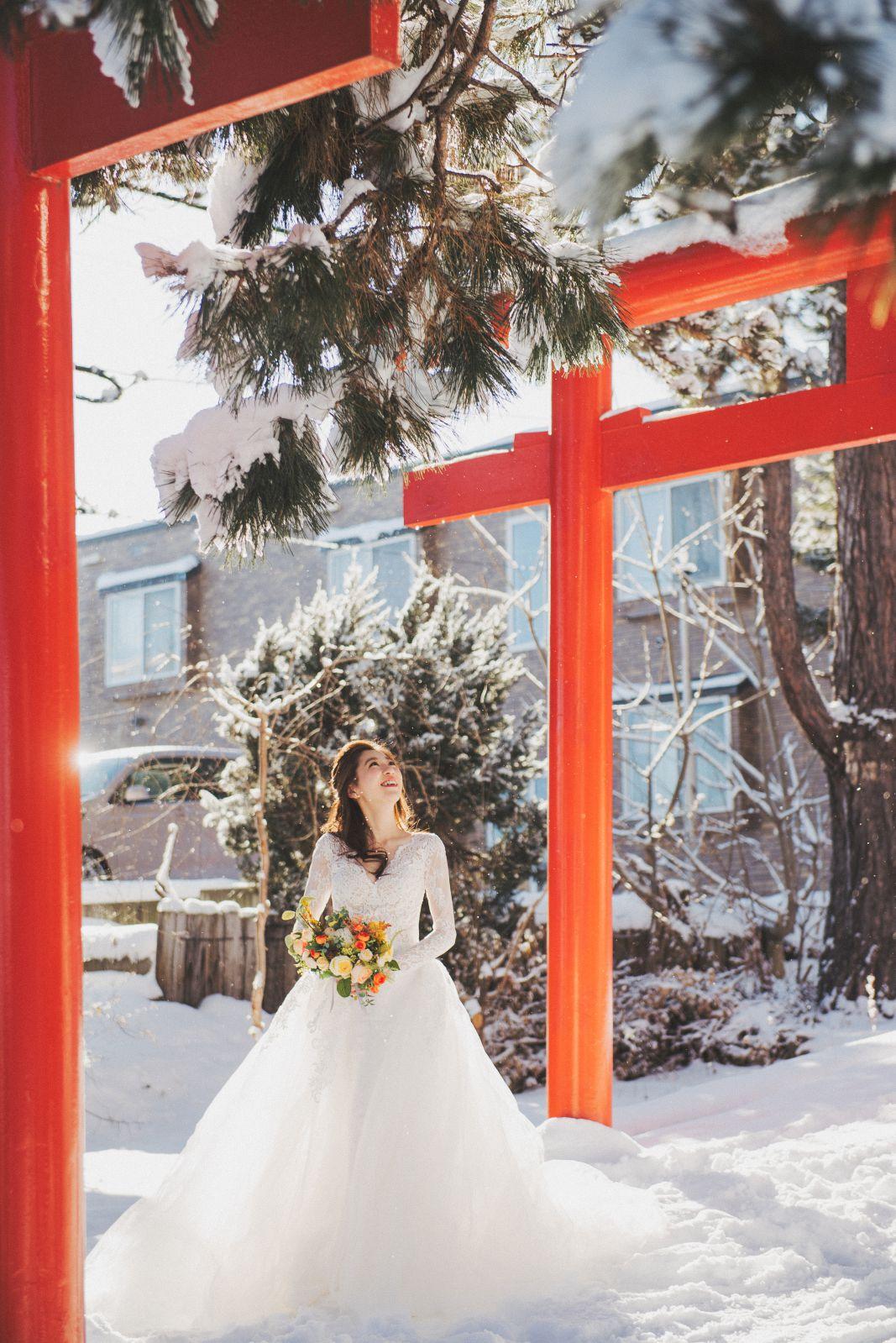 北海道婚紗推薦,日本海外婚紗婚禮