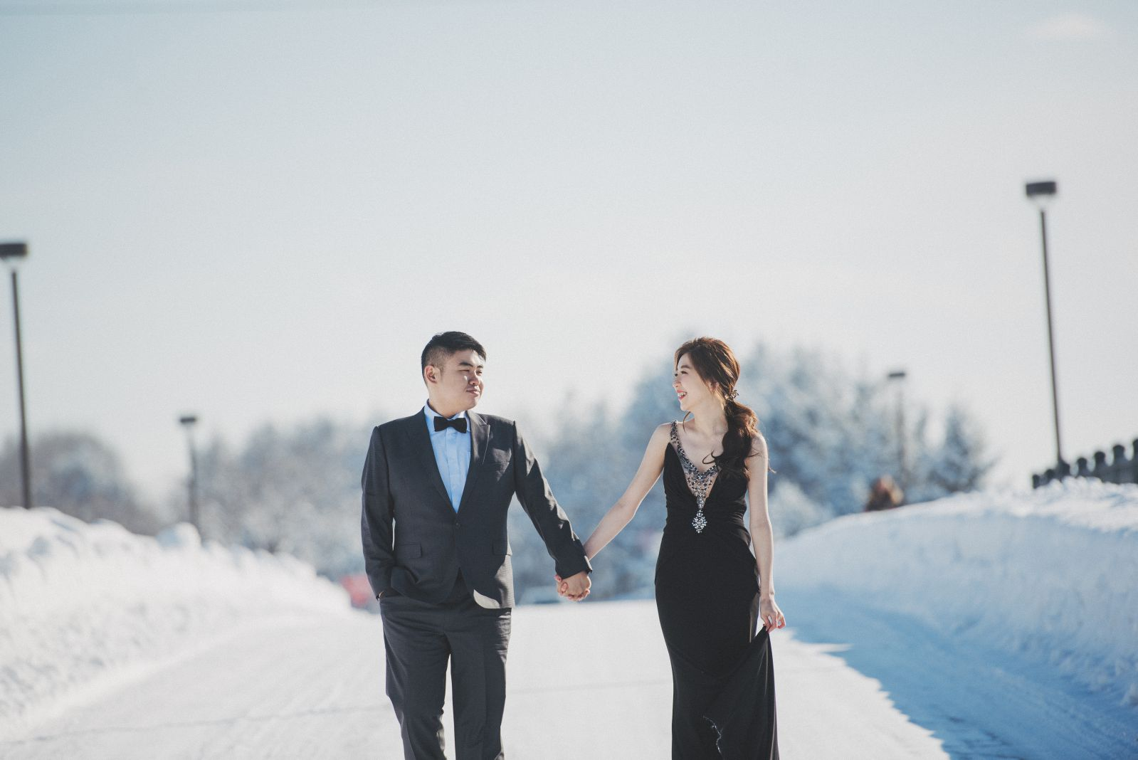 海外婚紗,冬季北海道婚紗