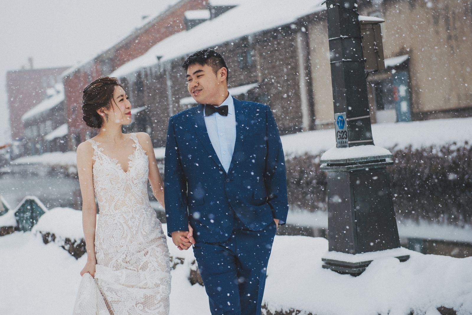 北海道婚紗,小樽運河
