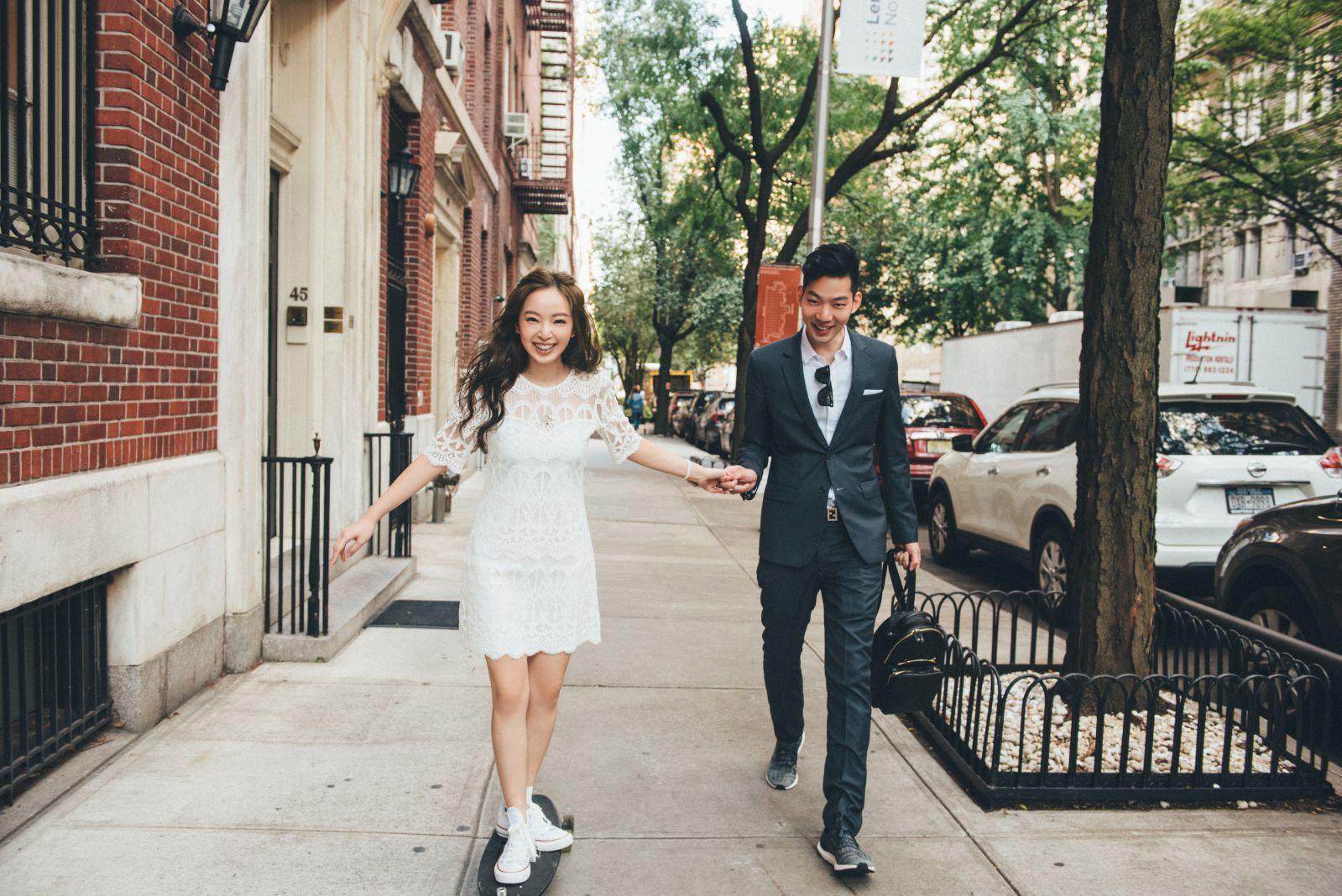 紐約街景婚紗拍攝