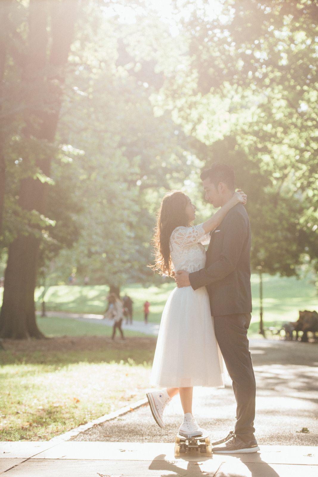 紐約中央公園拍攝
