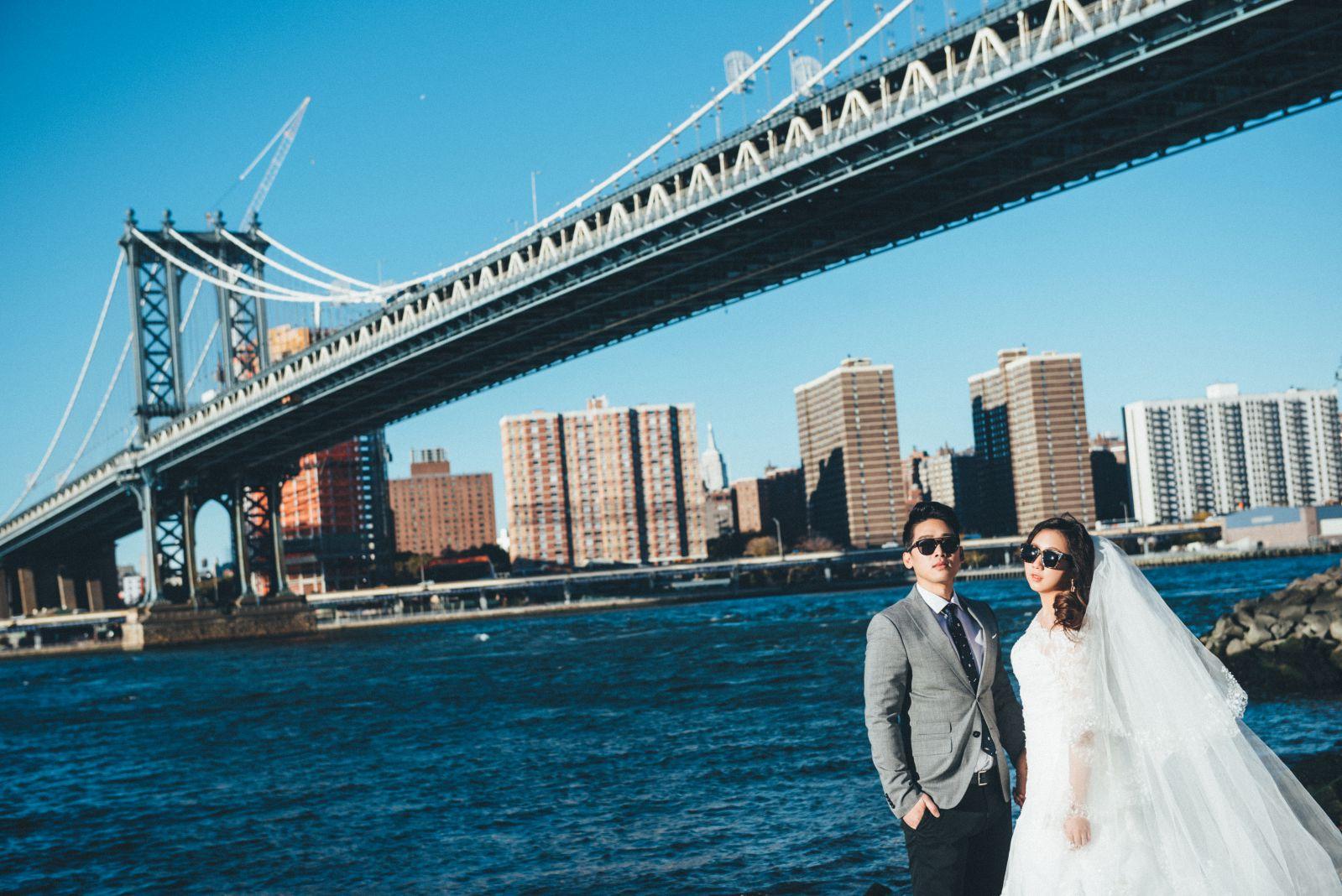 紐約婚紗拍攝景點,海外婚紗