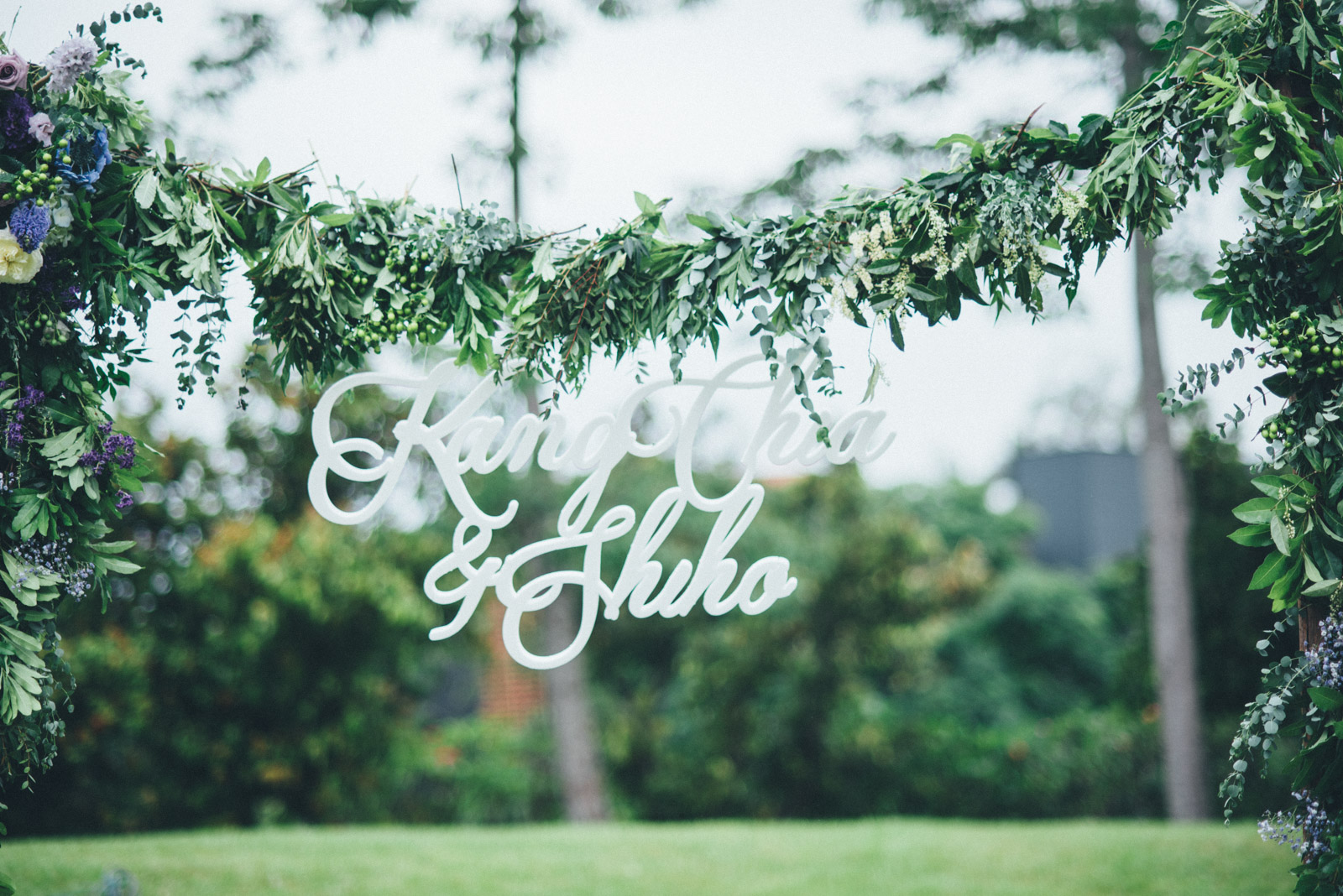婚禮攝影佈置