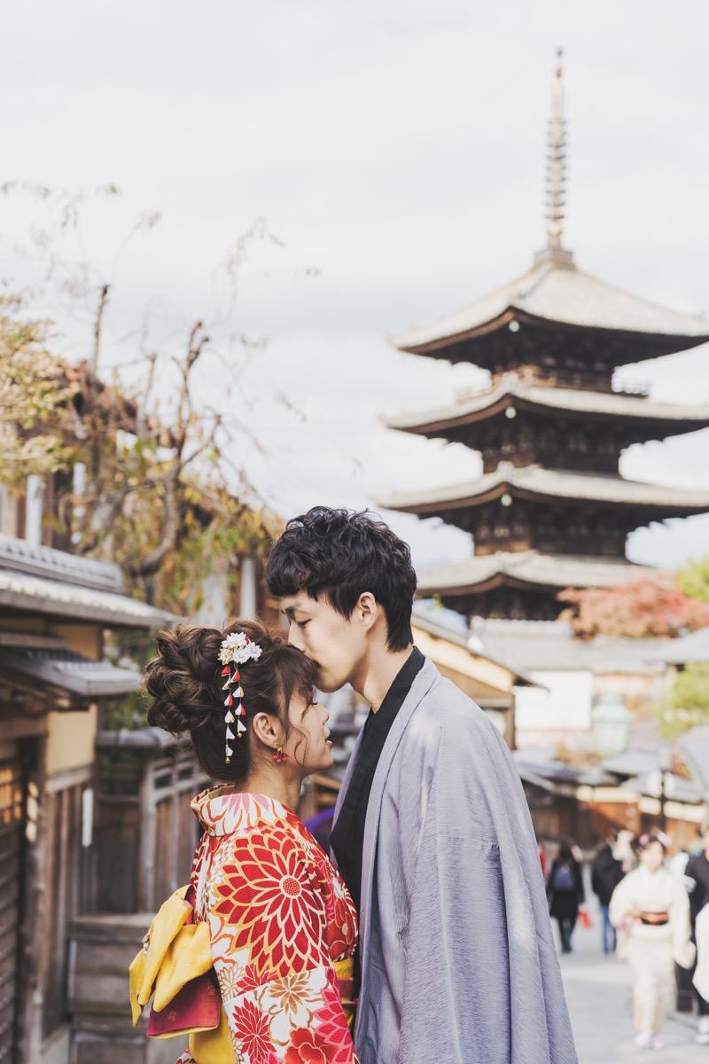 和服寫真,purefoto京都婚紗,京都海外婚紗