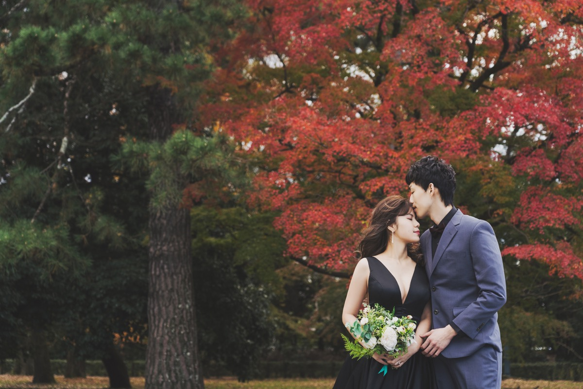 purefoto海外婚紗,京都婚紗