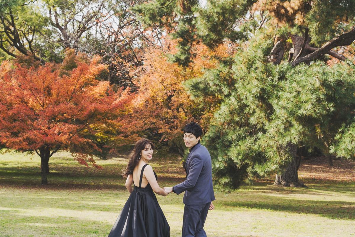 京都海外婚紗,京都拍攝地點,京都御苑,PUREFOTO