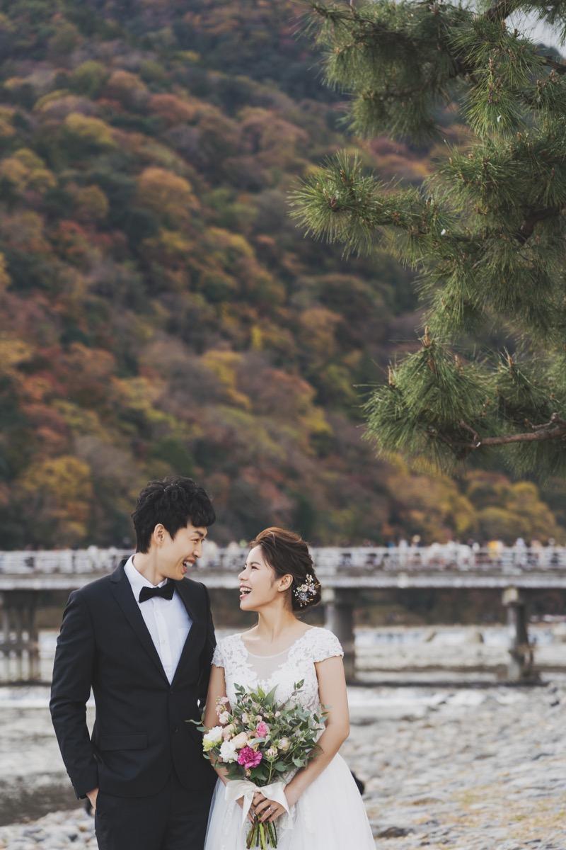 嵐山婚紗,purefoto,京都海外婚紗