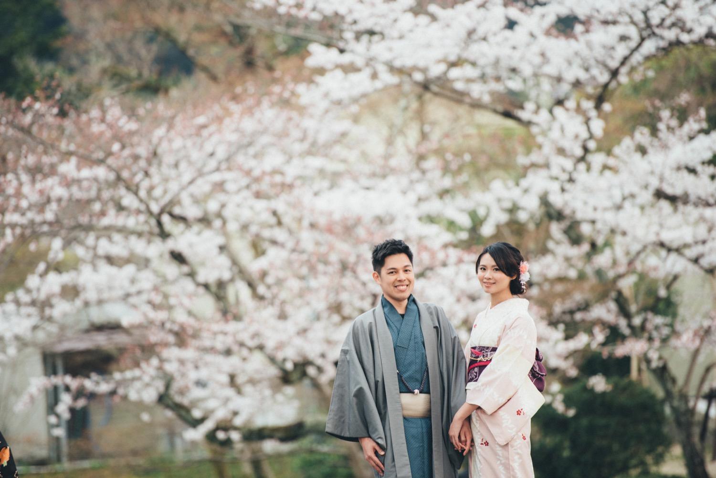 京都海外婚紗,櫻花婚紗