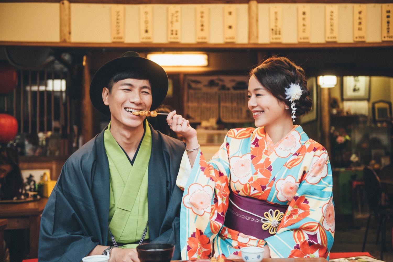 京都和服婚紗拍攝,和服寫真,京都婚紗