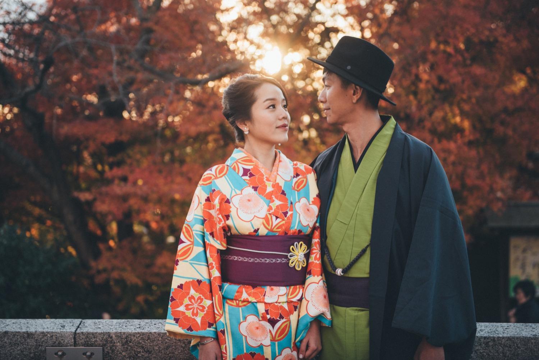 和服寫真,京都婚紗,海外婚紗