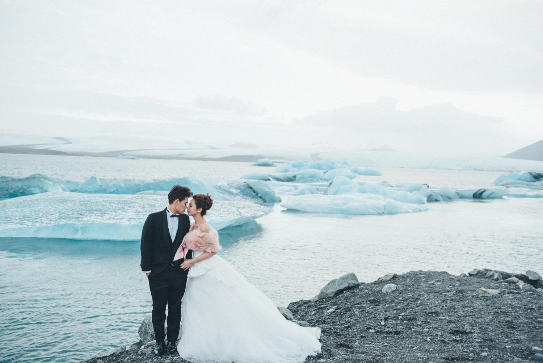 冰河湖婚紗,冰島自助婚紗
