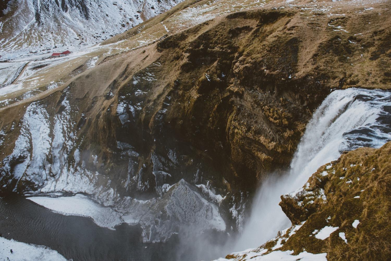 冰島瀑布,冰島自助行