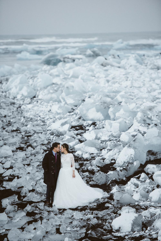 冰河湖婚紗,冰島海外婚紗,冰島婚紗攝影