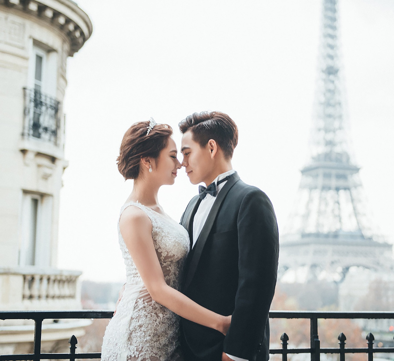 巴黎自助婚紗