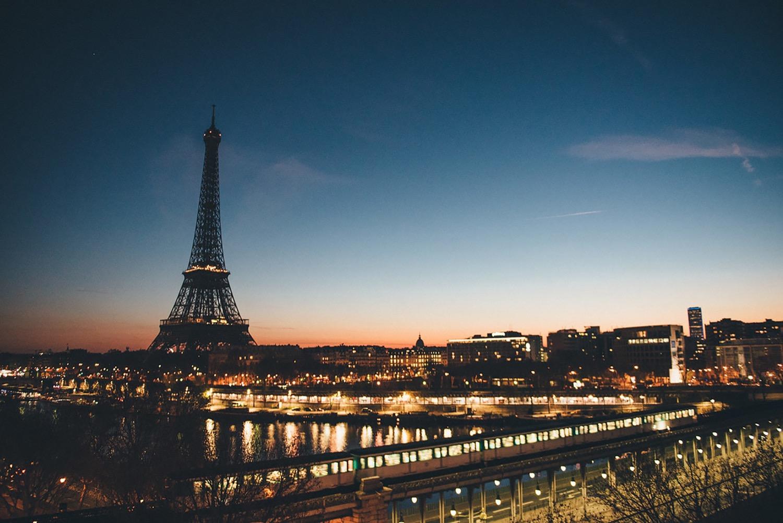 巴黎夜景,婚紗,自助旅行