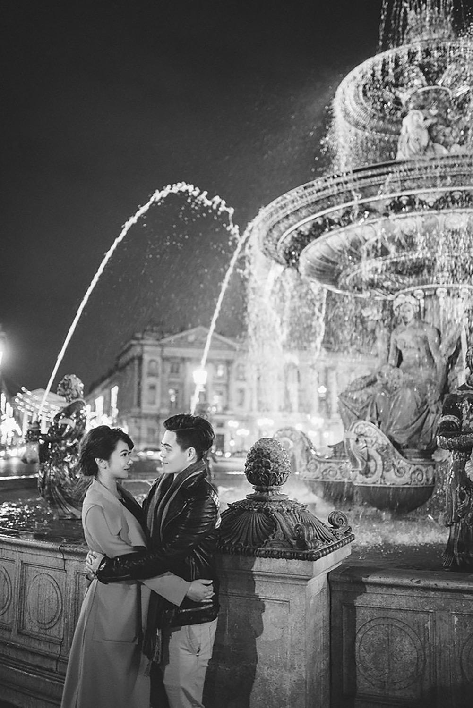 巴黎夜景婚紗,巴黎市集婚紗