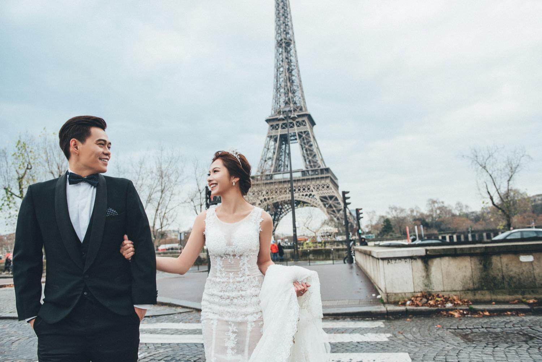 巴黎海外婚紗,巴黎婚紗
