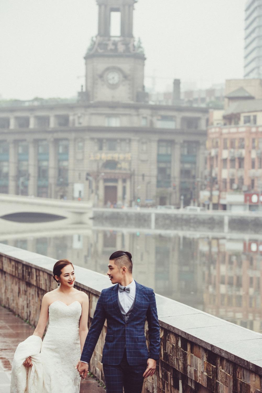 上海婚紗,中國婚紗景點, 外灘婚紗