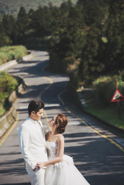 陽明山婚紗拍攝,台北婚紗拍攝,中湖戰備道