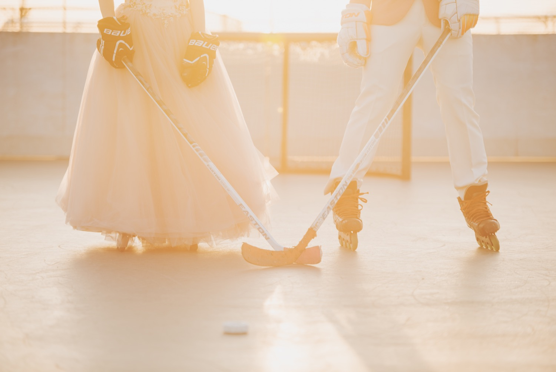 曲棍球婚紗拍攝