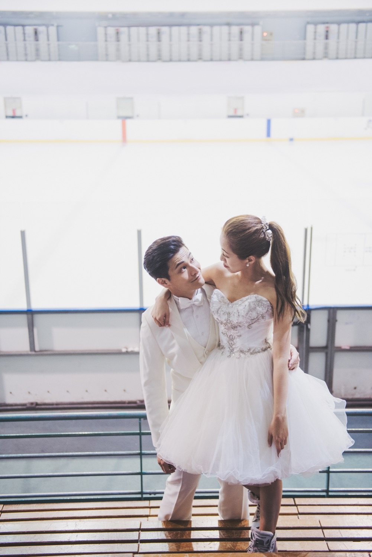 球場婚紗,小巨蛋婚紗攝影