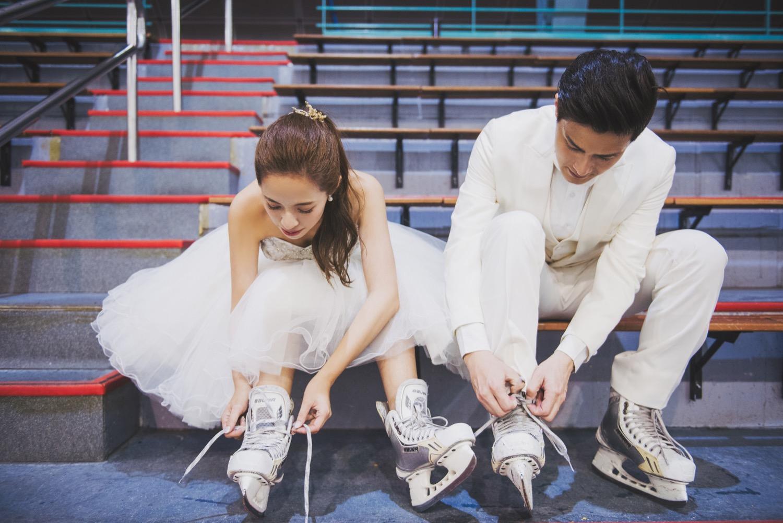 冰場婚紗攝影,台北婚紗攝影