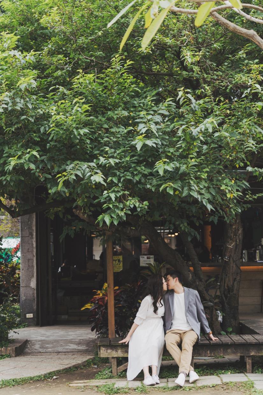 便服婚紗,自助婚紗,華山文創園區,台北婚紗