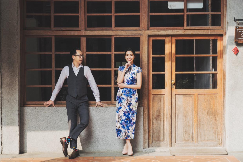 台灣婚紗,自助婚紗,台北婚紗,剝皮寮,旗袍婚紗