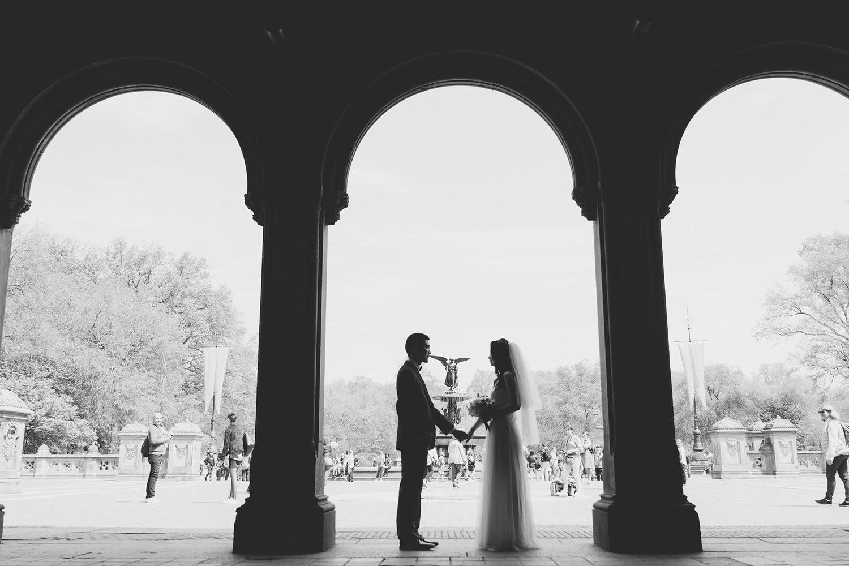 紐約海外婚紗_噴水池婚紗_旅遊婚紗