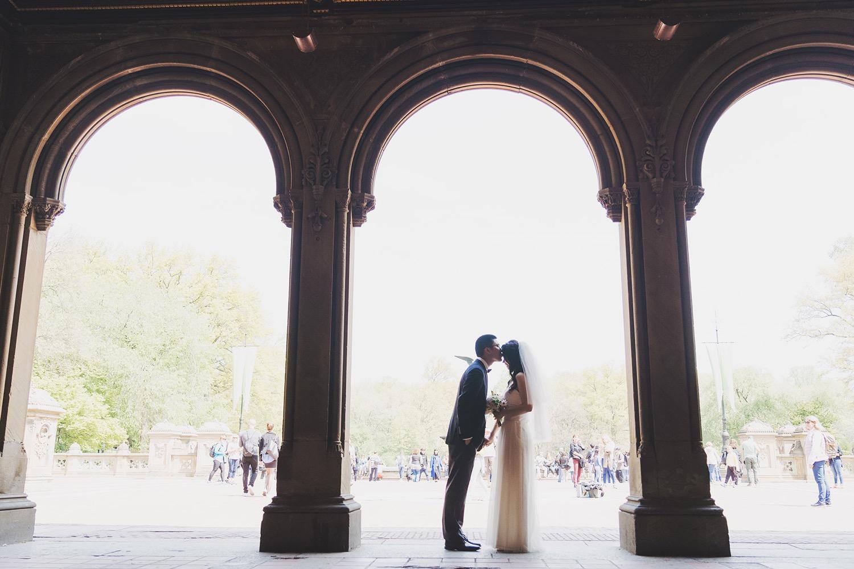 紐約海外婚紗_婚紗攝影工作室_旅遊婚紗_中央公園