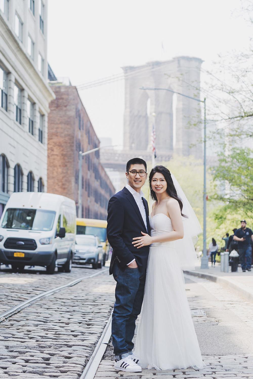 Dumbo engagement photo,布魯克林大橋婚紗