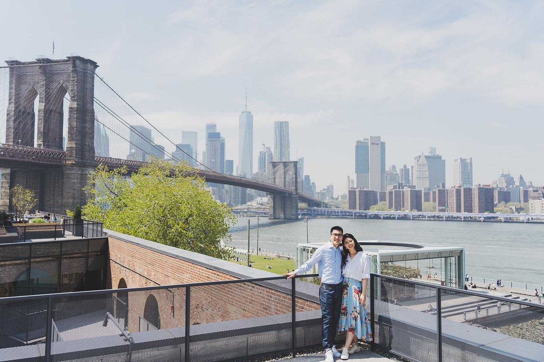 Brooklyn Bridge,布魯克林大橋,紐約婚紗,