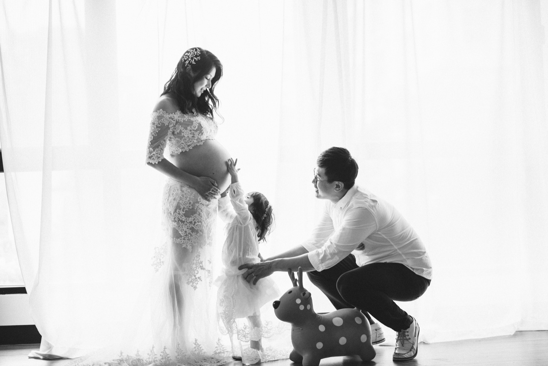 孕婦全家福婚紗,孕婦全家福,全家福攝影