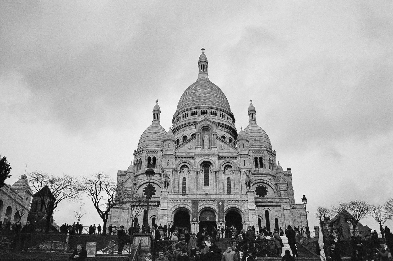 巴黎底片拍攝,生活紀錄,底片旅行,聖心堂